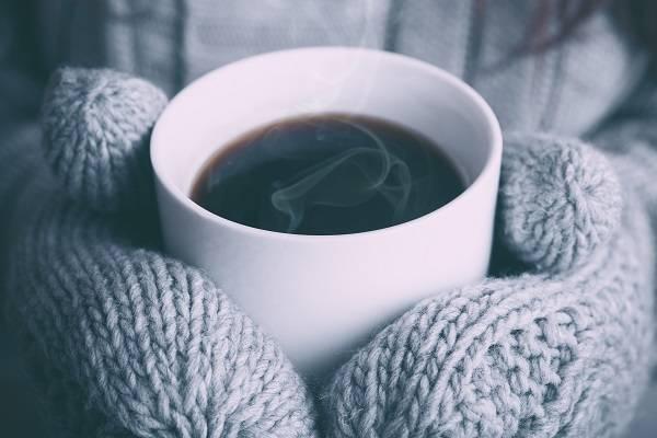 あったか手袋とコーヒー