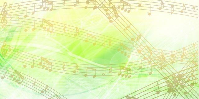 五線譜のメロディ