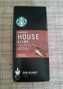 スターバックスオリガミパーソナルドリップコーヒー外箱
